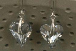 Adorable Swarovski Wild Heart Crystal Earrings