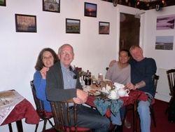 Lindsay, Roger, Nisha & Graham