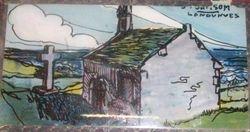 St SAMSON Landunvez Peinture sur verre