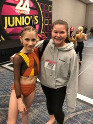 CK Dance Team Member with Elliana Walmsley at 24/Seven