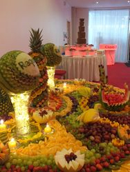 Fruit and chocolate what a great combination