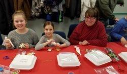 Gingerbread Cookies Decorating Class Dec.5, 2016