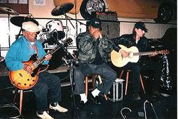 European Tour with Big Bo McGee and Little Whitt Wells - 1998