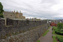 City walls in Derry