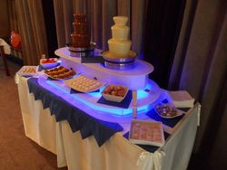 Small chocolate fountain hire Leeds west yorkshire
