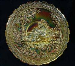 NUART Homestead chop plate - marigold