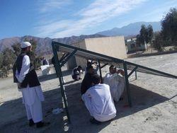 Installation of solar equipment