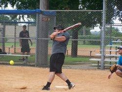 Belton up to bat