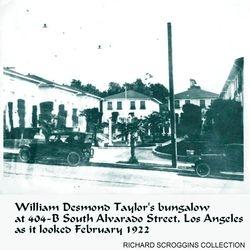 1922 William Desmond Taylor's home