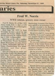 Norris, Fred W. 1998