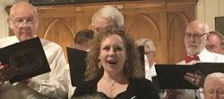 Our soloist Cara Gilberton-Boese