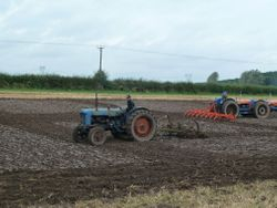 Fordson Major E1ADDN & Ransomes cultivator