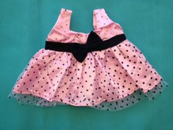 Pink bow dress  for a girls birthday party