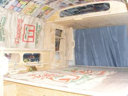 VW T2 Mild Rat Interior, Rock & Roll Bed
