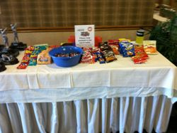 Snack Table!