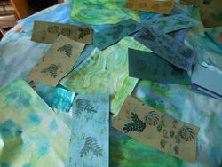 Painted Papers