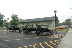 Model Ts at Museum