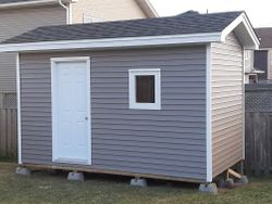 8' x 14' Standard Shed