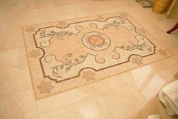 Mural Tiled Floor
