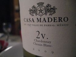 Mexican & International Wines