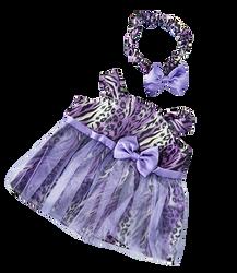 Purple Leopard Dress