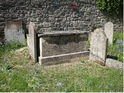 We have just spent £1700 on this chest tomb of 1828.