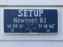 Boat Name sign