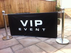 VIP Event signage and theming
