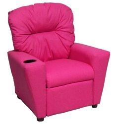 #401C Child Recliner  - Solid Pink cotton