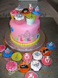 CC19 -Little Girl's Delight Cupcakes