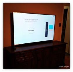 Samsung 65 inch TV wall mount installation