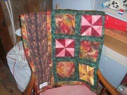 Autumn Pinwheels