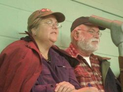 Pat and Larry at Oban Sale