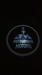 Mitsubishi Logo LED Door Projector Puddle Lights