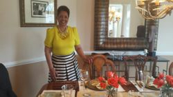 Hostess Mrs. Carolyn Drew
