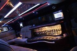 Binnen kant Hummer limousine