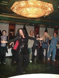 Neferteti, dancing at Nile Maxim