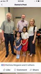 Mick Moloney-Haley Richardson-Myself and kids at Mercy Center