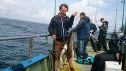 fishing in Ireland galway pollack