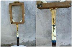 Vintazine teniso rakete. Kaina 28