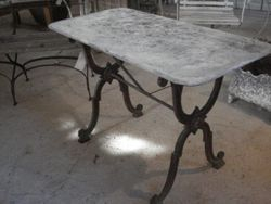 #15/207 Cast Iron Base Table SOLD