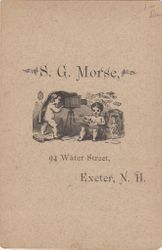 S. G. Morse of Exter, NH