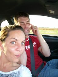 My incredibly mature husband & myself (before kids)!