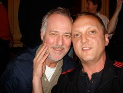 with Michael Barrymore 2008