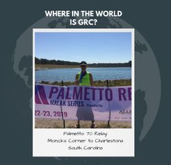 Where in the World is GRC? Palmetto 70 Relay in South Carolina