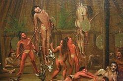Catlin, Mandan Cutting Ceremony, 1832, Denver