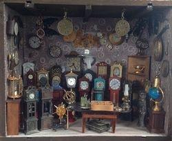 Clockmaker shop