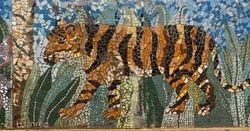 Tiger Mosaic (detail)
