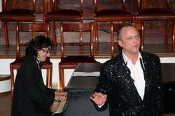 with Alex Silverman, piano