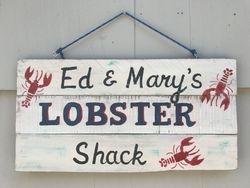 Lobster Shack sign